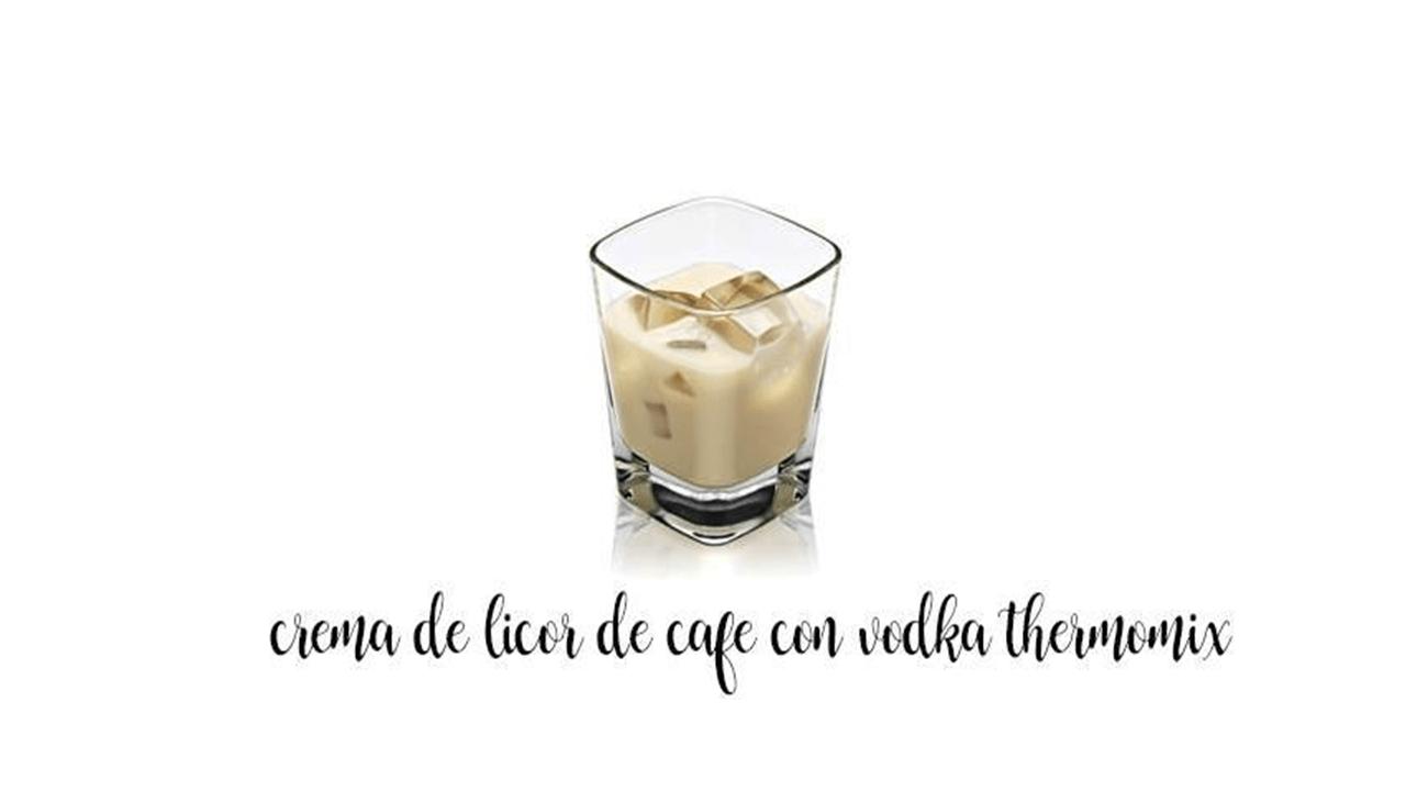 Likier kawowy z wódką z Thermomixem