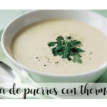 Leek Cream with Thermomix