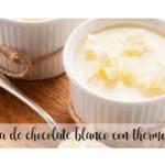 Krem z białej czekolady z thermomixem