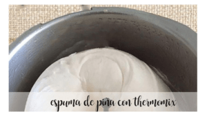Pineapple Foam with Thermomix