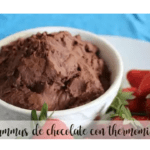 Chocolate Hummus with Thermomix