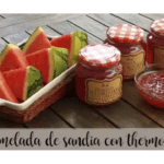 Watermelon jam with Thermomix