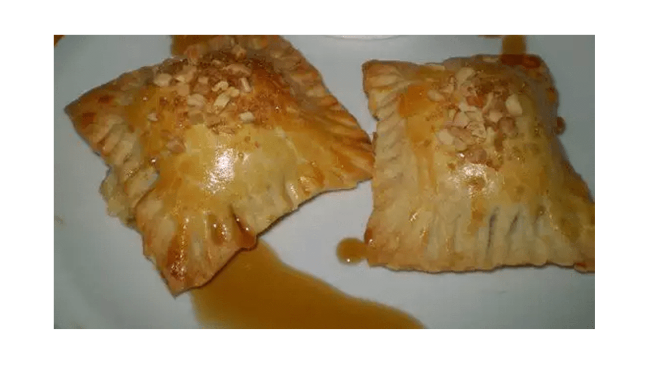 Cheese and onion puff pastry with Thermomix