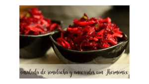 Beet and cashew salad recipe in the Thermomix