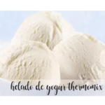 Yogurt ice cream recipe with Thermomix