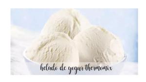 Yogurt ice cream recipe with Thermomix