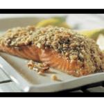 Receta de salmón con crujiente de pistacho en la Thermomix