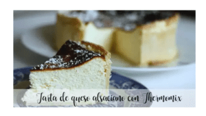 Alsatian cheese cake with Thermomix