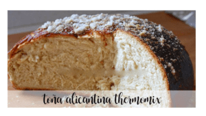 Alicante  Biscuit with Thermomix