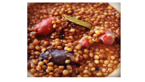 Lentils with Thermomix