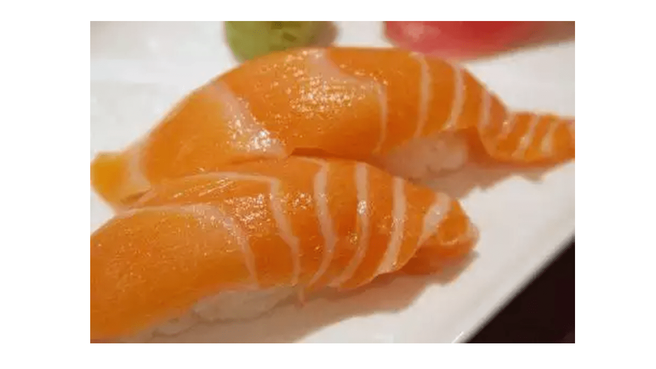Salmon nigiri recipe with the Thermomix