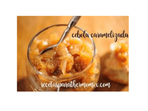 Caramelized onion with thermomix