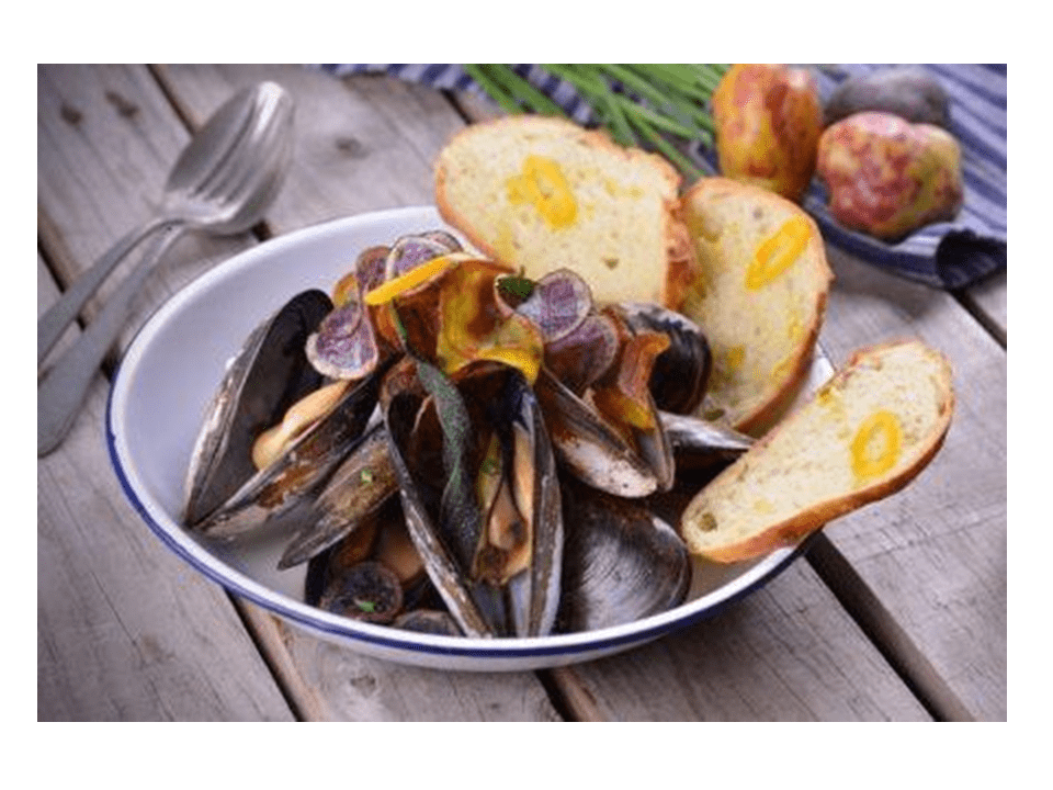 Mussels in cava with the Thermomix