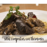 Country mushrooms with thermomix