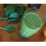 Cheese and avocado smoothie with the Thermomix