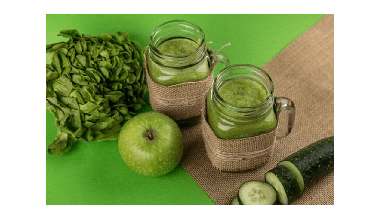 Green detox juice with the Thermomix