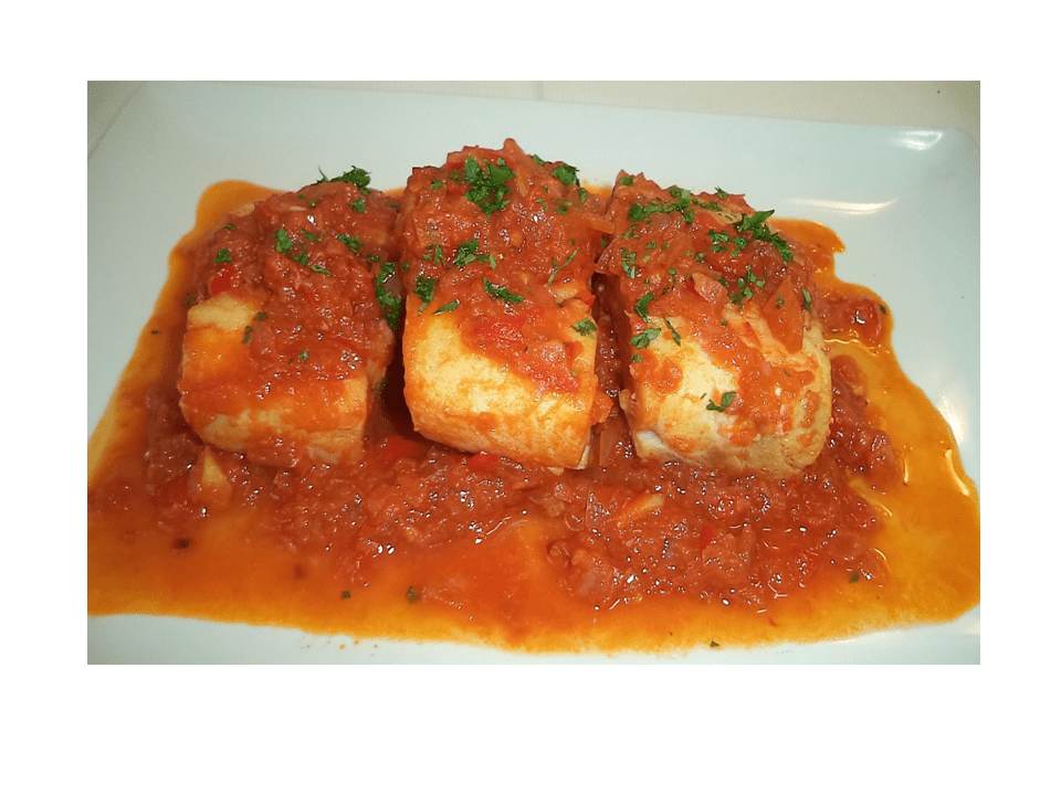 Cod with tomato in the Thermomix