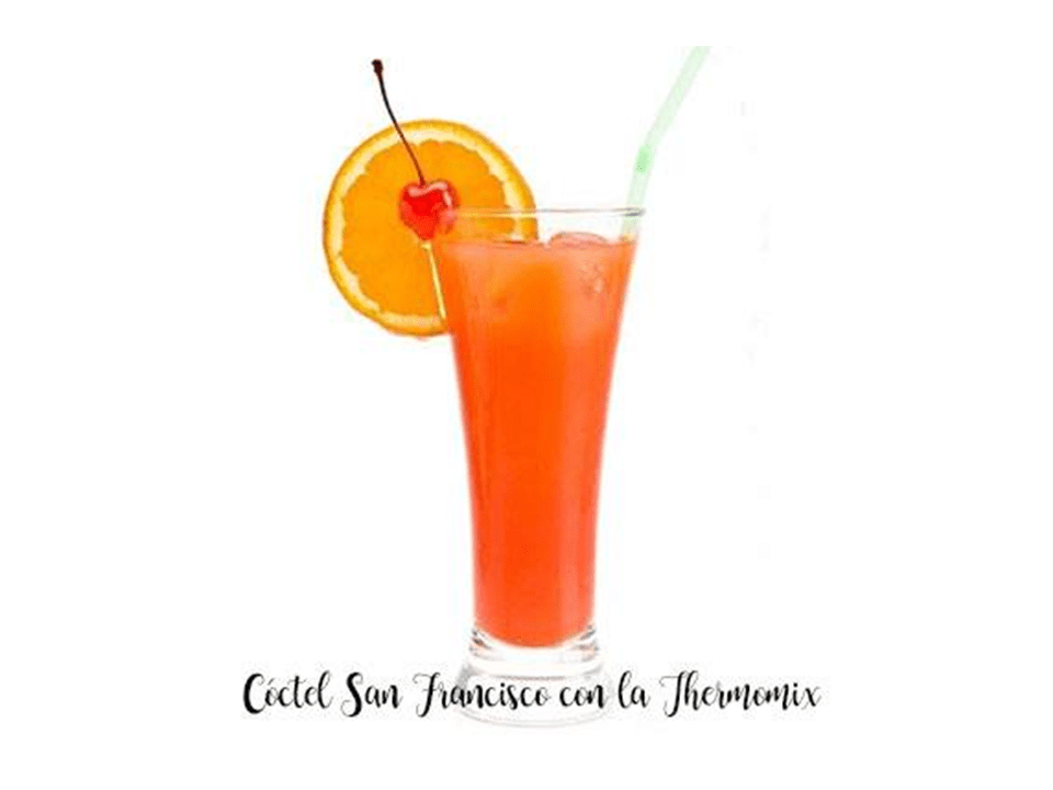 San Francisco cocktail with the Thermomix