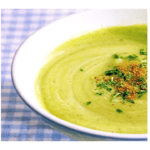 Avocado and zucchini cream with thermomix
