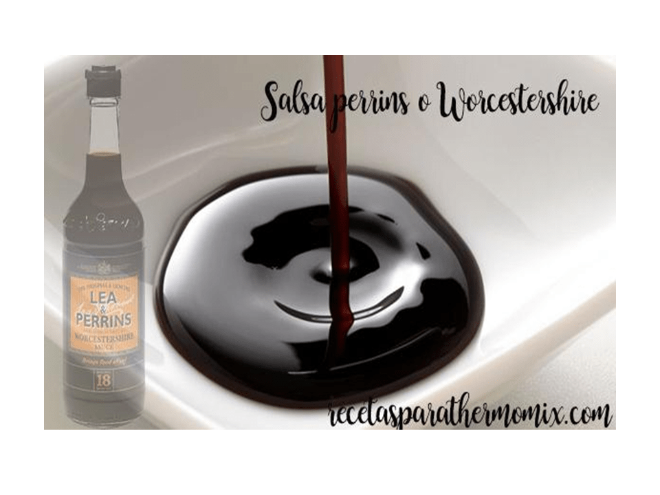 Perrins sauce or Worcestershire thermomix