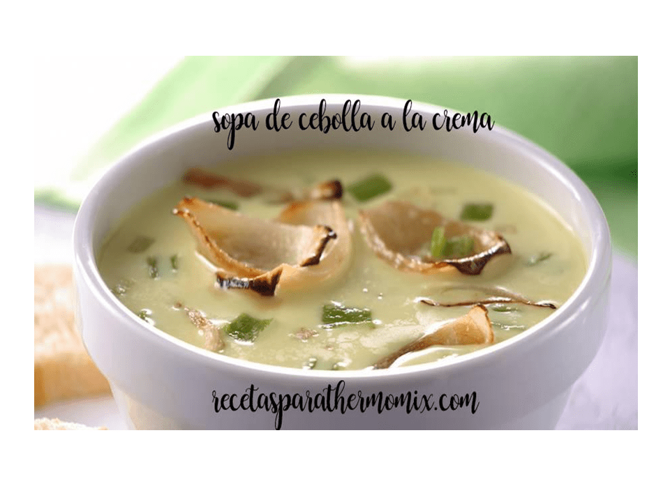 Creamy Onion Soup with Thermomix