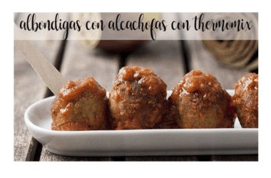 Artichoke meatballs with thermomix