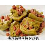 Artichokes in beer with thermomix