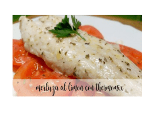 Lemon hake in the Thermomix