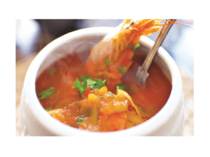 Fish soup with thermomix