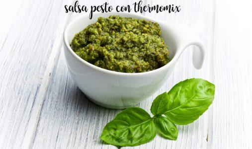 Pesto sauce with thermomix