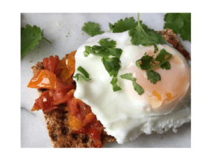 How to make poached eggs on the Thermomix