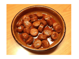 Cider sausage with Thermomix