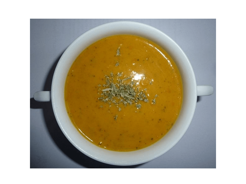 Pumpkin cream with the Thermomix