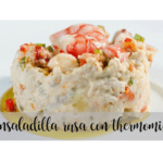 Russian salad with thermomix