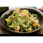 Zucchini spaghetti with thermomix