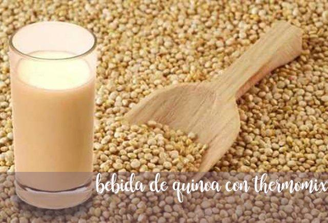 Quinoa drink and properties of quinoa