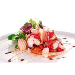 Salpicón z owocami morza z thermomixem