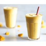 Mango smoothie with thermomix