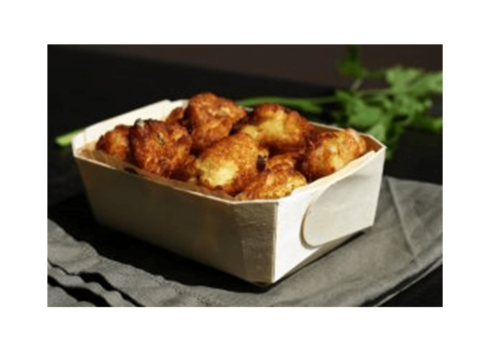 Hindu cod fritters with thermomix