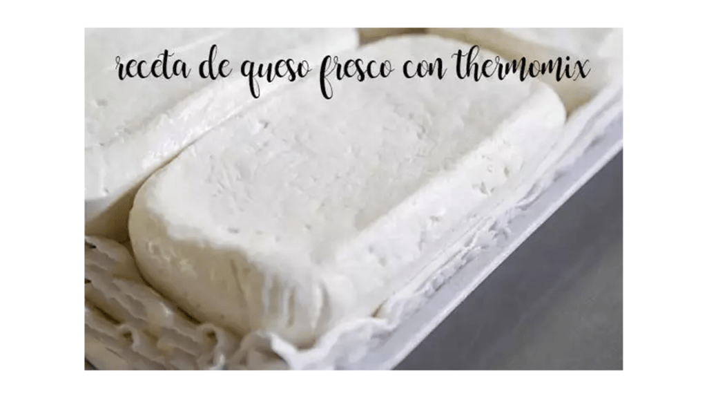 Make fresh cheese with Thermomix