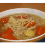 Chicken soup with the Thermomix