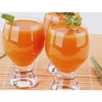 Fat-eating papaya, melon and pineapple juice with thermomix