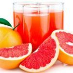 Orange and grapefruit fat-eating juice with thermomix
