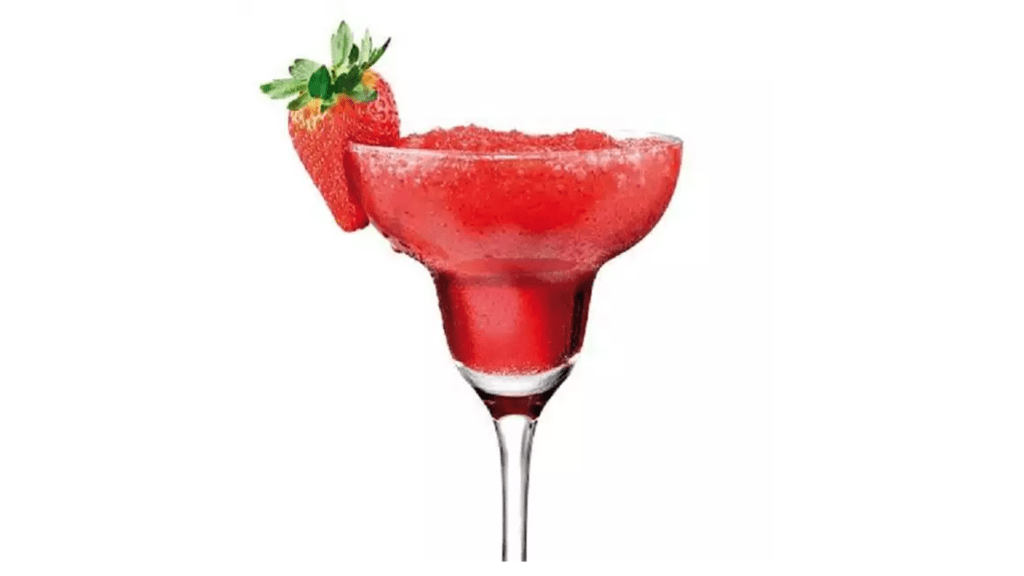Strawberry Daiquiri with the Thermomix