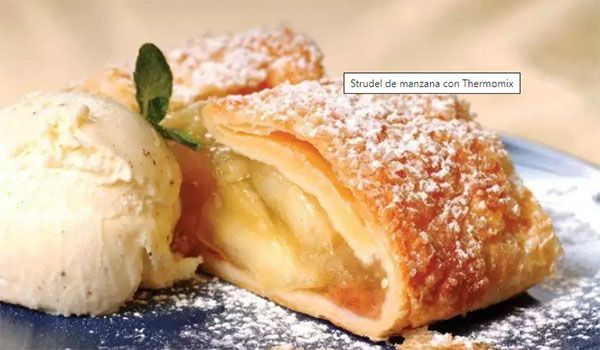 Apple Strudel with Thermomix
