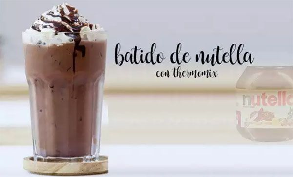 Nutella shake with thermomix