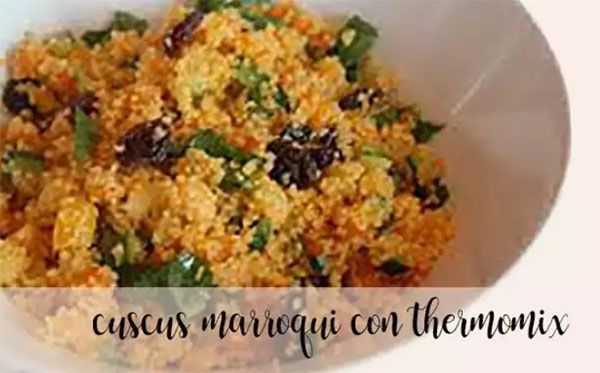 Moroccan couscous with the Thermomix
