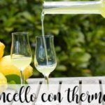 Limoncello with the thermomix