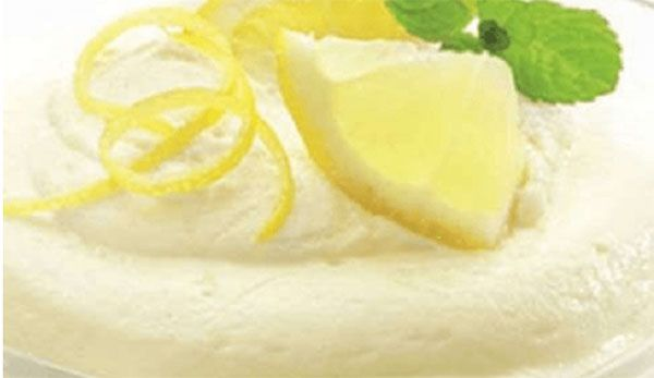 Lemon mousse with the Thermomix