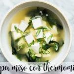 Japanese Miso Soup with Thermomix